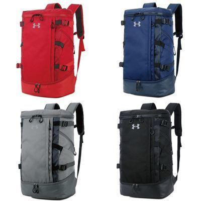UA超大容量库里篮球书包男运动足球骑行双肩背包户外登山包旅行包