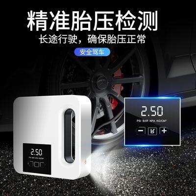 车载充气泵多功能便携式汽车打气泵汽车轮胎12 V大功率电动打气磅