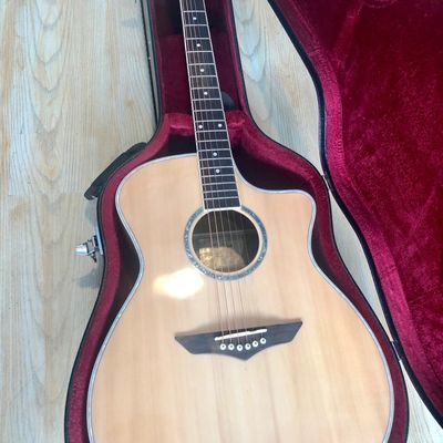 亮光新手网红面单民谣木吉他初学者单板男女生专用它入门41寸