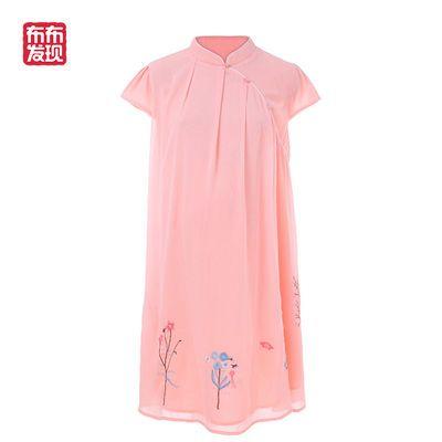 布布发现童装2020夏季母女亲子装新款时尚仙女连衣裙中国风公主裙
