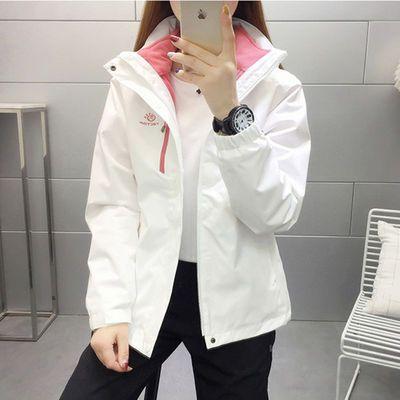 72975/探拓秋冬新款冲锋衣男女三合一两件套可拆卸内胆雪山防风防水外套