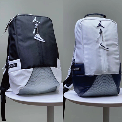 aj11康扣双肩包篮球运动背包男学生书包飞人旅游帆布电脑包9A1971
