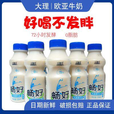 欧亚畅好原味乳酸菌牛奶饮品330ml*12瓶整箱饮料学生成人发酵酸奶