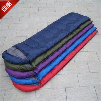 亏本春秋夏季信封式睡袋成人睡袋加厚保暖带帽睡袋超轻午休睡袋