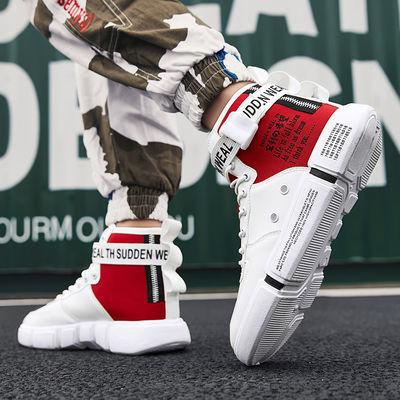 回力鞋子男高帮百搭休闲学生运动男鞋2020春季新款帆布鞋韩版潮流