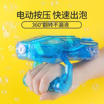 儿童电动吹泡泡机网红同款少女心玩具全自动泡泡相机补充液