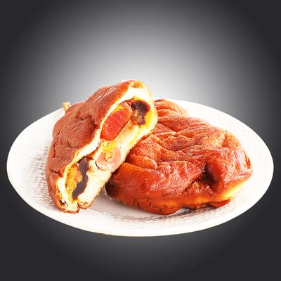 鸡腿面包儿时怀旧老式80后热狗火腿豆沙土豪肉松面包零食早餐整箱