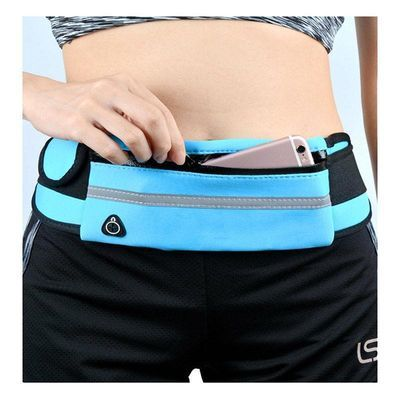 运动腰包男女时尚新款户外跑步健身多功能防水小腰带包水壶手机包