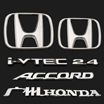 适用于98-07款雅阁2.3 2.4 6 7代雅阁车标前后标英文标尾箱标志贴
