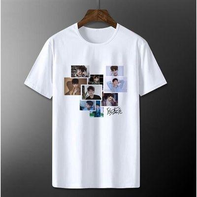 任嘉伦Allen周边短袖T恤男女粉丝应援服写真情侣夏季衣服半袖衫