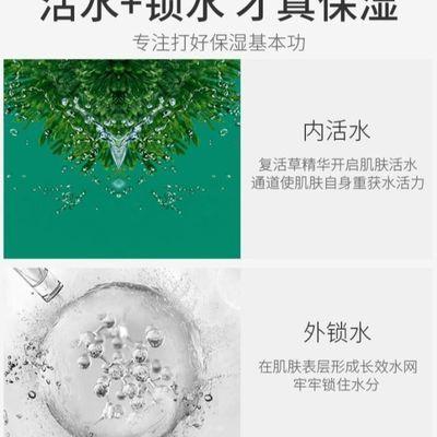 新款婷美化妆品复活草修护乳液80ml补水保湿修复乳提亮肤色专柜正