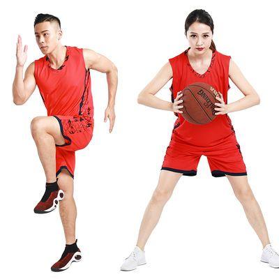 新款篮球服套装男女款夏季球衣比赛球衣情侣同款篮球服定制韩版