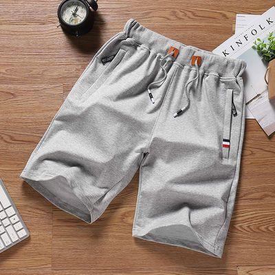 短裤男五分裤夏季棉运动裤休闲宽松马裤大码沙滩裤大裤衩潮牌男装