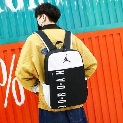 AJ双肩包书包女学生韩版电脑包男女大高中小学生书包潮流运动包