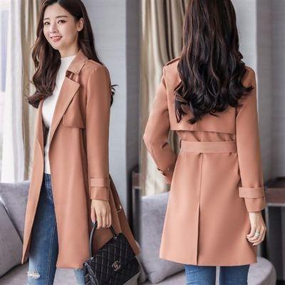 风衣女中长款2020春装新款韩版气质收腰大衣洋气薄款女士春秋外套