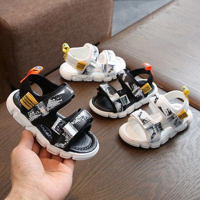 小孩儿童凉鞋 1-3-5岁童鞋男幼童防滑软底学步鞋女2020夏季沙滩鞋