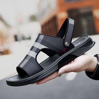 2020夏季新款男士凉拖沙滩鞋子休闲时尚韩版潮流外穿两用防滑透气