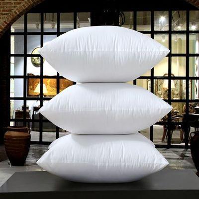 沙发靠背芯抱枕靠垫芯子十字绣抱枕芯404550556575方垫芯