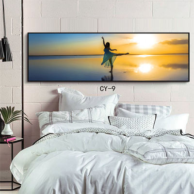 现代简约卧室床头挂画客厅装饰画餐厅酒店宾馆有框画北欧风格壁画