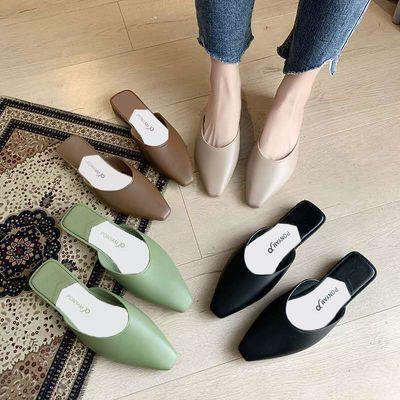 凉拖鞋女夏外穿网红鞋子女学生韩版凉鞋女防滑家用半拖鞋女拖鞋