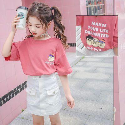 【特价清仓】女童T恤夏装2020新款女大童宝宝童装韩版亲子装洋气