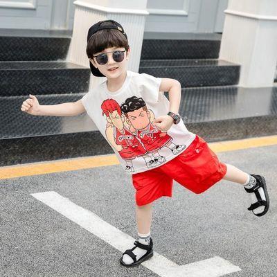 【特价清仓】童装男童夏季套装小童宝宝短袖短裤2020新款男孩夏天