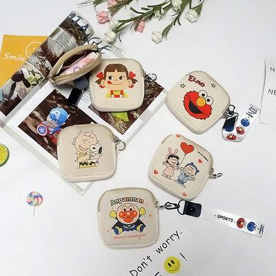 卡通零钱包女迷你可爱韩国钥匙包布艺卡包小包包学生硬币帆布袋