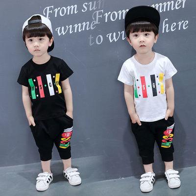 【特价清仓】童装男童宝宝夏装短袖2020新款2-7岁中小童夏季韩版