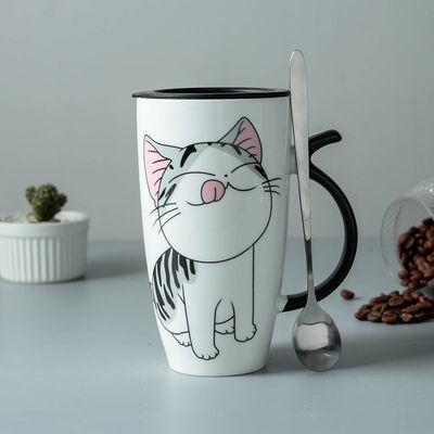 创意杯子陶瓷杯女可爱大容量马克杯子学生情侣杯咖啡杯家用喝水杯
