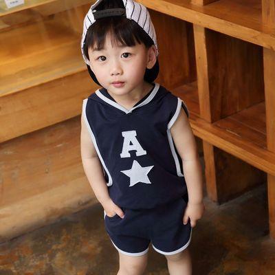 【特价清仓】男童短袖套装8童装7夏季6两件套5新款4儿童装3岁儿童