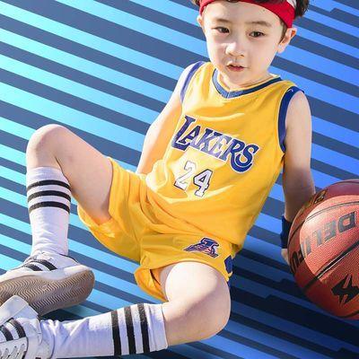 男童套装夏季2019新款中大童篮球服儿童运动跑步宽松短裤两件套潮
