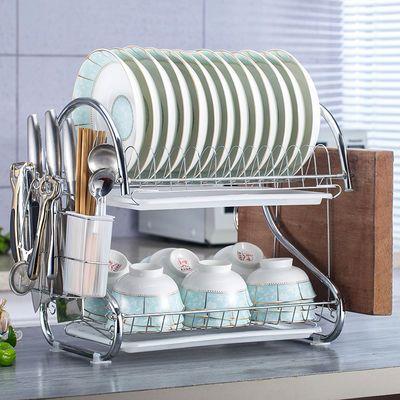 碗架沥水架晾放碗筷盘子收纳架子厨房用品置物架碗筷收纳盒储物架