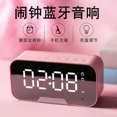 电子闹钟超响闹铃床头夜光学生用可充电女生卧室声音超大简约宿舍