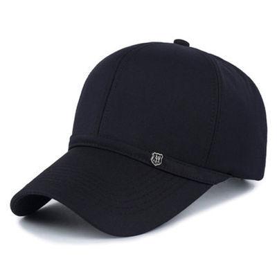 春秋天中老年人帽子男士老头鸭舌帽中年帽老人棒球帽薄款单帽布帽
