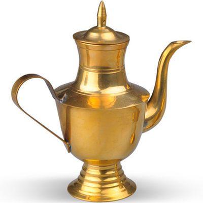 铜酒壶酒杯可自用可供奉财神观音上供道具工艺品倒酒大小号摆礼品