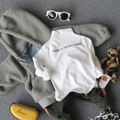 【特价清仓】童装女童春秋新款半高领打底衫男宝女宝棉质长袖恤中