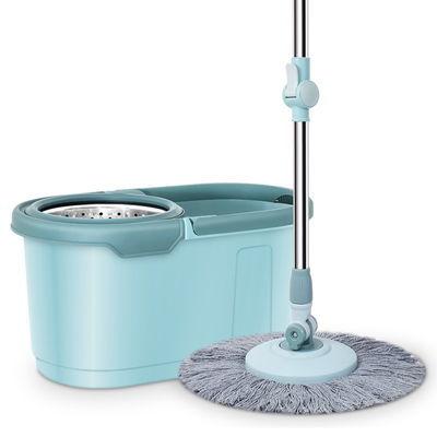 加厚拖把旋转拖把免手洗自动拖把桶家用墩布拖布悬浮式懒人拖地桶