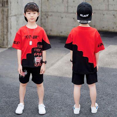 【特价清仓】童装男童夏季套装2020新款儿童短袖运动夏装帅气韩版