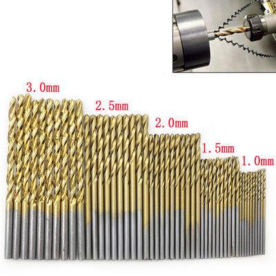 高速钢镀钛麻花直柄钻头套装金属钻孔不锈钢钻孔文玩手串打孔