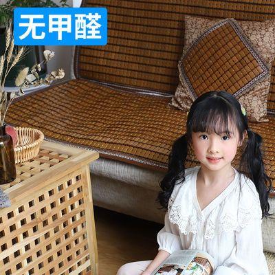 夏季沙发凉席沙发垫麻将席沙发凉垫防滑坐垫冰丝欧式夏天竹沙发垫