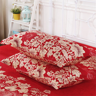 【枕套一对】亲肤活性印染工艺磨毛面料枕套44cmx70cm 枕头学生