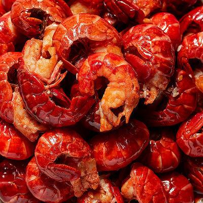 麻辣小龙虾熟食虾尾零食即食十三香辣麻辣味简单烹饪虾球冷冻加热