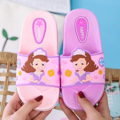 儿童拖鞋夏季男女童款可爱公主宝宝凉拖透气防滑居家浴室内外软底
