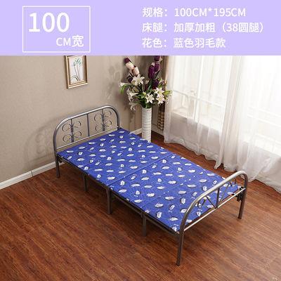 折叠床午休床单人床双人床简易床陪护木板床成人1米1.2米1.5米宽