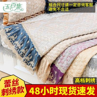 欧式提花款沙发垫沙发巾靠背巾扶手巾棉麻盖巾布艺沙发套防尘罩