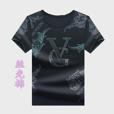 T恤短袖男夏季新款套头韩版修身潮流百搭男装 ins上衣凯星服饰