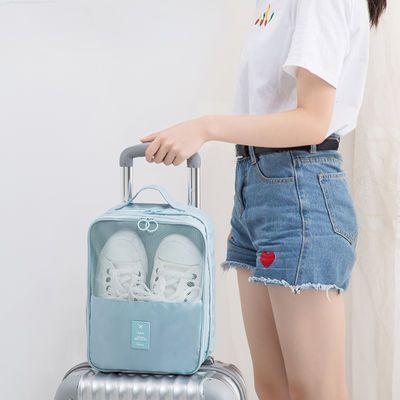 鞋子收纳神器省空间鞋盒 多功能防尘鞋袋收纳袋旅行收纳便携鞋包