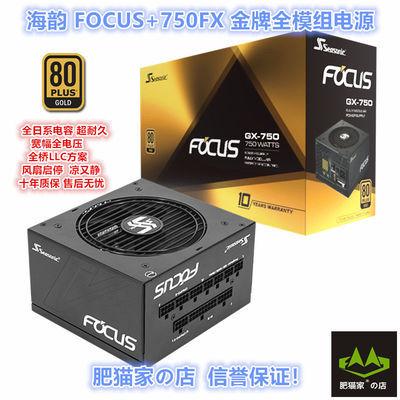 肥猫家の店 海韵FOCUS+750FX 750W电源 金牌全模/十年质保/全日系