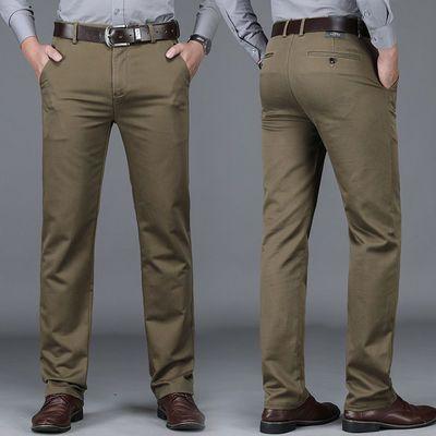 2020男式休闲西裤商务时尚男士宽松弹力直筒长裤2020秋季新款男装