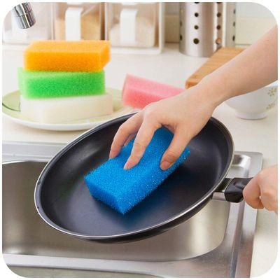 【2-24片装】韩国仿丝瓜洗碗海绵擦不沾油丝瓜络洗碗布厨房清洁刷